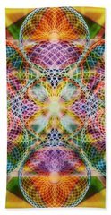 Torusphere Synthesis Bright Beginning Soulin I Beach Towel