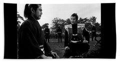 Toshiro Mifune Band Of Assassins Beach Towel