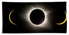 Total Eclipse 2017 Beach Towel