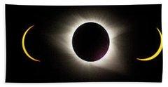 Total Eclipse 2017 Beach Sheet