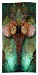 Totem Of Corrosion Beach Towel