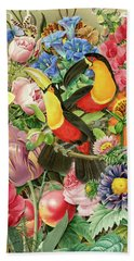Toucans Beach Towel