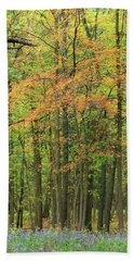 Touch Of Autumn Beach Towel