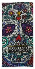 Touch Of Death Beach Towel