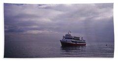 Tour Boat San Francisco Bay Beach Sheet