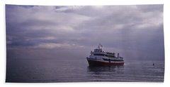 Tour Boat San Francisco Bay Beach Towel