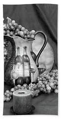 Beach Towel featuring the photograph Tour Of Italy In Black And White by Sherry Hallemeier