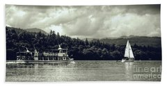 Touring The Lakes In Sepia Beach Sheet