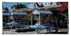 Tourist Souvenir Shell Carts Beach Sheet