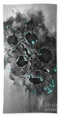 Beach Sheet featuring the photograph Tournesols De Paris Monochrome by Jack Torcello