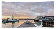 Toward The Dusk Beach Towel by Greg Nyquist