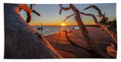 Towards The Sun Beach Towel