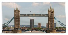 Tower Bridge C Beach Towel
