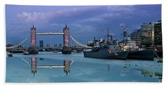Tower Bridge Delight Beach Sheet