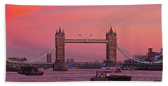 Tower Bridge London Beach Towel