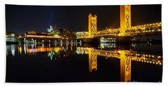 Tower Bridge Sacramento Beach Sheet