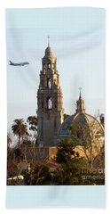 Tower Of Casa De Balboa In Balboa Park In San Diego - 2017 Beach Towel