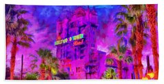 Tower Of Terror Beach Towel