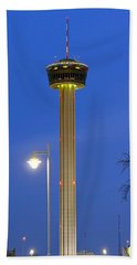 Tower Of The Americas Beach Towel