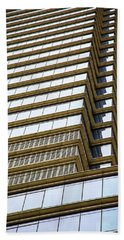Beach Sheet featuring the photograph Towering Windows by Karol Livote