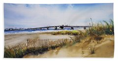 Townsends Inlet Beach Towel