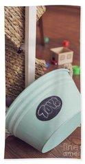 Toy Bucket Beach Sheet
