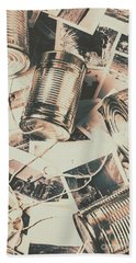 Toy Telecommunications Beach Towel