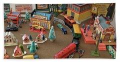 Toytown - Train Set Overview Beach Sheet