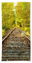 Track To Nowhere Beach Towel