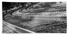 Tracks Through Historic Buford Beach Sheet