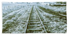 Tracks To Travel Tasmania Beach Towel