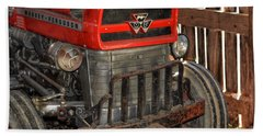 Tractor Grill  Beach Towel