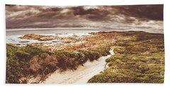 Trail To Western Tasmania Beach Towel
