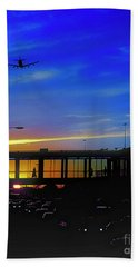 Trains Planes And Automobiles  Beach Towel