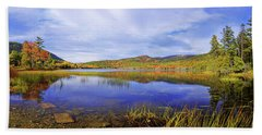 Beach Towel featuring the photograph Tranquil by Chad Dutson