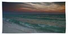 Beach Towel featuring the photograph Tranquil Evening by Renee Hardison