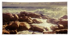 Tranquil Ocean Views Beach Towel