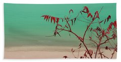 Tranquil View Beach Towel