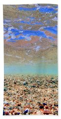 Crystal Clear Beach Towel by Nadia Sanowar