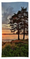 Beach Towel featuring the photograph Tranquility by Rose-Marie Karlsen