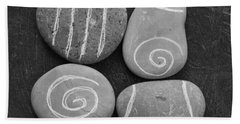 Tranquility Stones Beach Towel