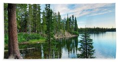 Tranquility - Twin Lakes In Mammoth Lakes California Beach Towel