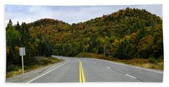 Trans-canada Highway Through Northern Beach Towel
