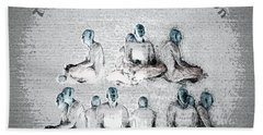 Transcendental Meditation Beach Towel