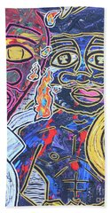 Transgenerational Karma Beach Towel