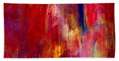 Transition - Abstract Art Beach Sheet by Jaison Cianelli