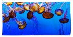 Translucent Jellyfish Beach Towel