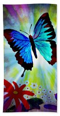 Transformation Beach Towel
