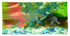 Transparent Catfish Beach Towel