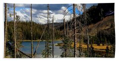 Trap Lake, Roosevelt National Forest, Colorado Beach Towel